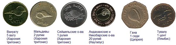 монеты Ганы